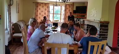 Corporate Group at Sherrill Farm Cottages