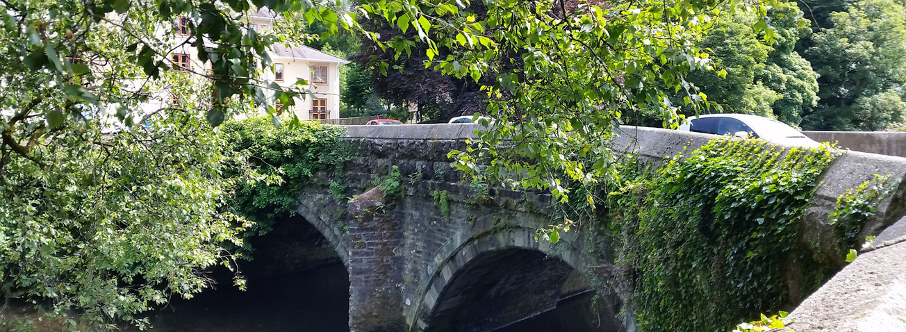 Bridge at Tavistock Devon